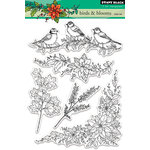 Penny Black - Clear Acrylic Stamps - Birds and Blooms