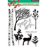 Penny Black - Clear Acrylic Stamps - Nature's Silhouettes