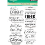 Penny Black - Christmas - Clear Acrylic Stamps - Festive Cheer