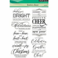 Penny Black - Christmas - Clear Photopolymer Stamps - Festive Cheer