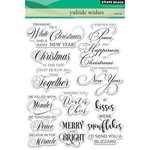 Penny Black - Christmas - Clear Acrylic Stamps - Yuletide Wishes