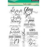 Penny Black - Christmas - Clear Acrylic Stamps - Holy Night
