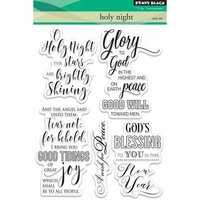 Penny Black - Christmas - Clear Photopolymer Stamps - Holy Night