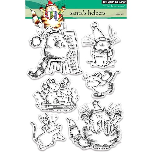 Penny Black - Christmas - Clear Photopolymer Stamps - Santa