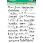 Penny Black - Christmas - Clear Photopolymer Stamps - Festive Snippets