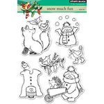Penny Black - Clear Photopolymer Stamps - Snow Much Fun