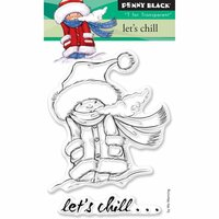 Penny Black - Clear Photopolymer Stamps - Let's Chill