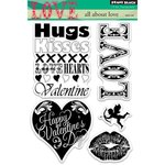 Penny Black - Clear Acrylic Stamps - All About Love