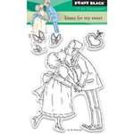Penny Black - Clear Acrylic Stamps - Kisses for My Sweet