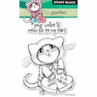 Penny Black - Clear Photopolymer Stamps - Purrfect