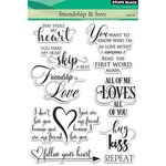 Penny Black - Clear Acrylic Stamps - Friendship and Love