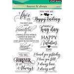 Penny Black - Clear Acrylic Stamps - Forever and Always