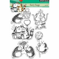 Penny Black - Clear Photopolymer Stamps - Furry Hugs