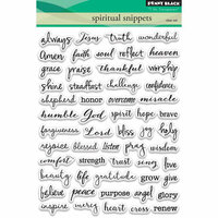 Penny Black - Clear Photopolymer Stamps - Spiritual Snippets