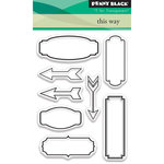 Penny Black - Clear Acrylic Stamps - This Way