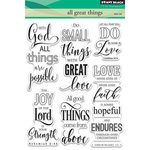 Penny Black - Clear Acrylic Stamps - All Great Things