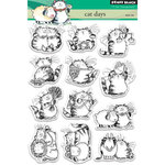 Penny Black - Clear Acrylic Stamps - Cat Days