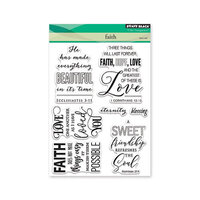 Penny Black - Clear Photopolymer Stamps - Faith