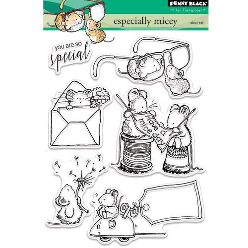 Penny Black - Clear Photopolymer Stamps - Especially Micey