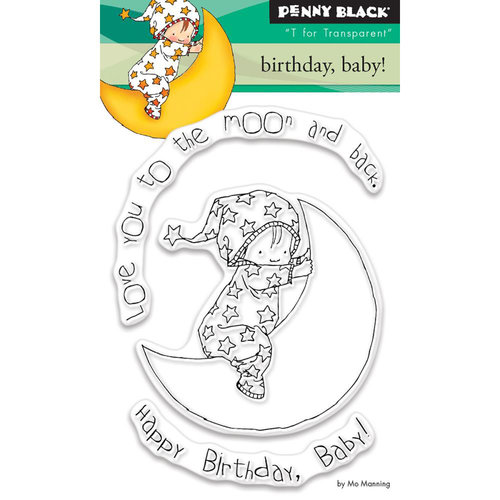 Penny Black - Clear Photopolymer Stamps - Birthday, Baby