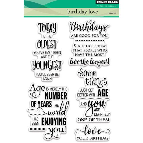 Penny Black Birthday Love Stamps