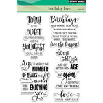 Penny Black - Clear Acrylic Stamps - Birthday Love