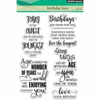 Penny Black - Clear Photopolymer Stamps - Birthday Love