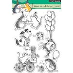 Penny Black - Clear Photopolymer Stamps - Time to Celebrate