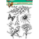 Penny Black - Clear Acrylic Stamps - Garden Charmers