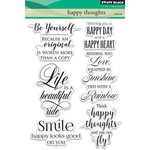 Penny Black - Clear Acrylic Stamps - Happy Thoughts