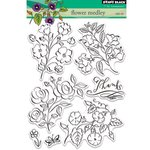 Penny Black - Clear Acrylic Stamps - Flower Medley