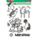 Penny Black - Clear Acrylic Stamps - Cheerful Critters