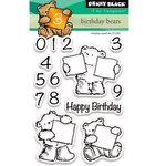 Penny Black - Clear Acrylic Stamps - Birthday Bears