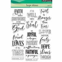 Penny Black - Clear Photopolymer Stamps - Hope Shines