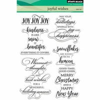Penny Black - Christmas - Clear Photopolymer Stamps - Joyful Wishes
