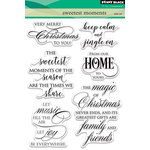 Penny Black - Christmas - Clear Acrylic Stamps - Sweetest Moments