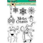 Penny Black - Christmas - Clear Acrylic Stamps - North Pole Treasures