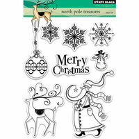 Penny Black - Christmas - Clear Photopolymer Stamps - North Pole Treasures