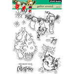Penny Black - Christmas - Clear Acrylic Stamps - Gather Around