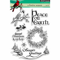 Penny Black - Christmas - Clear Photopolymer Stamps - A Festive Season