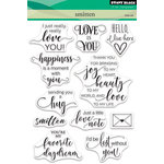 Penny Black - Clear Acrylic Stamps - Smitten