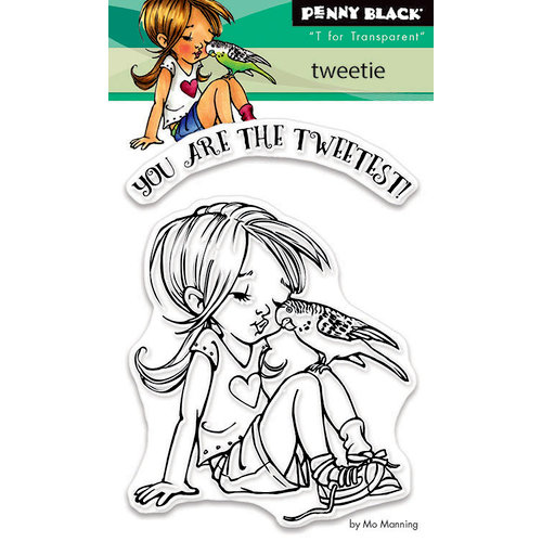 Penny Black - Clear Photopolymer Stamps - Tweetie
