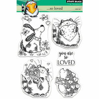 Penny Black - Clear Photopolymer Stamps - So Loved