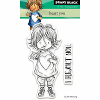 Penny Black - Clear Photopolymer Stamps - Heart You