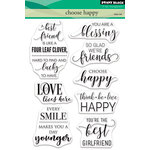 Penny Black - Clear Photopolymer Stamps - Choose Happy