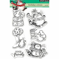 Penny Black - Clear Photopolymer Stamps - Birthday Critters