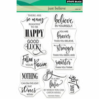 Penny Black - Clear Photopolymer Stamps - Just Believe
