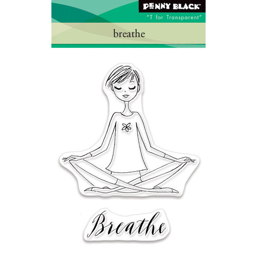 Penny Black - Clear Photopolymer Stamps - Breathe