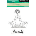 Penny Black - Clear Acrylic Stamps - Breathe
