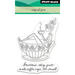Penny Black - Clear Acrylic Stamps - Cup of Java